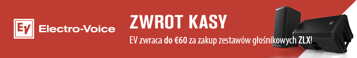 Electro-Voice ZLX - zwrot kasy!