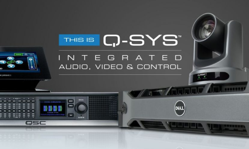 QSC Q-SYS - Platforma integrująca audio, video i system kontrolny