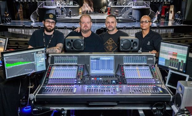 Konsolety DiGiCo na scenie AXIS w resorcie Planet Hollywood w Las Vegas