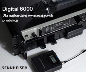 Sennheiser Digital 6000 - najwyższej klasy cyfrowy system bezprzewodowy