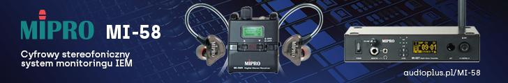 Audio Plus - MiPro MI-58 IEM