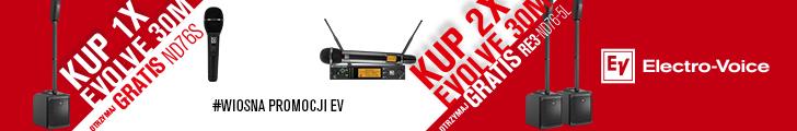 Audio Plus - Wiosna promocji EV