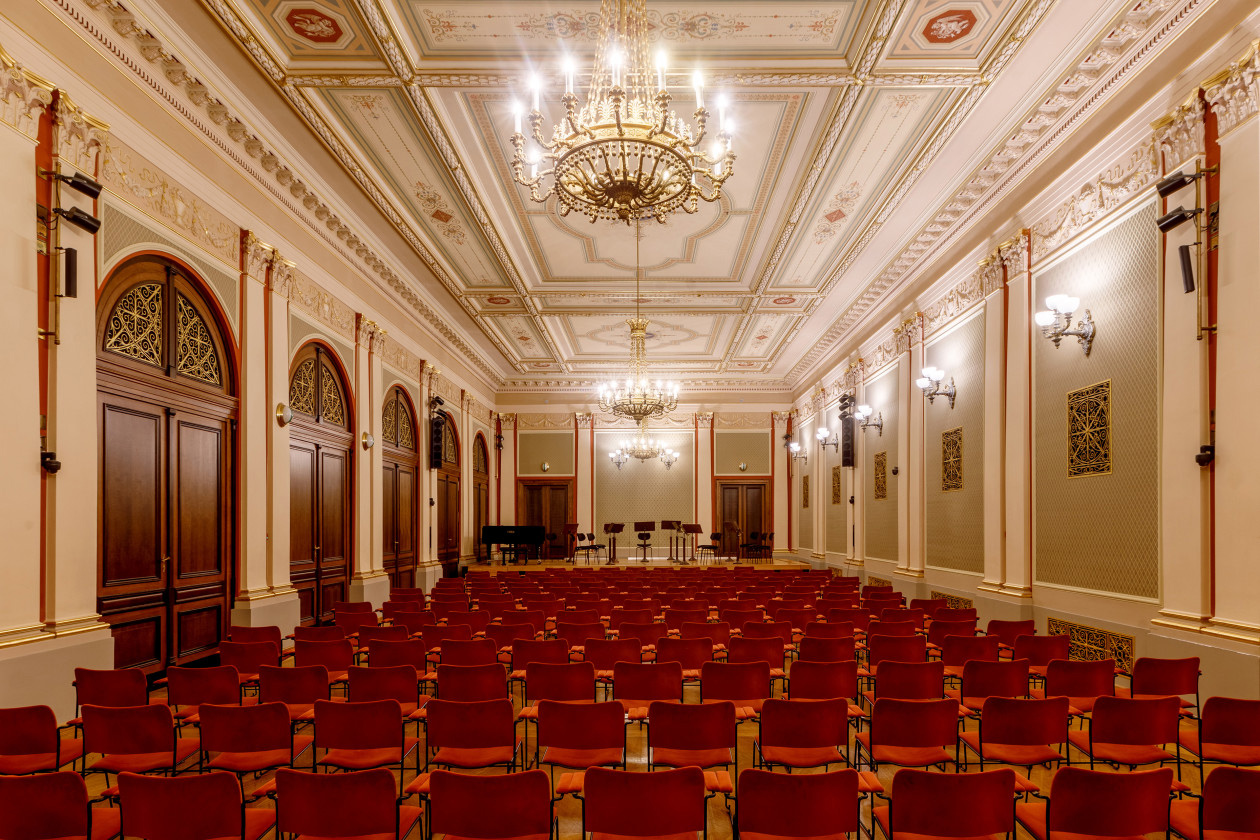 KV2 Audio Rudolfinum Prague Suk Hall 1