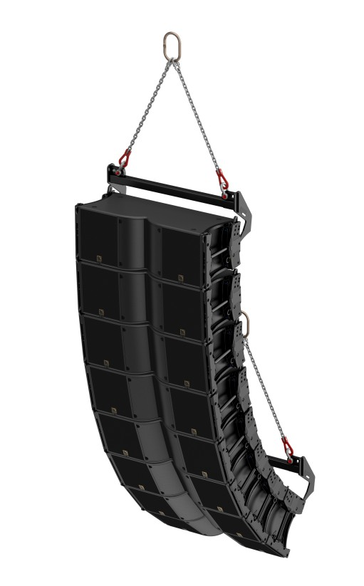 L Acoustics K3 array K3 RIGBAR pull back