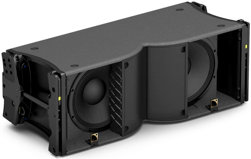 L Acoustics K3 open inside