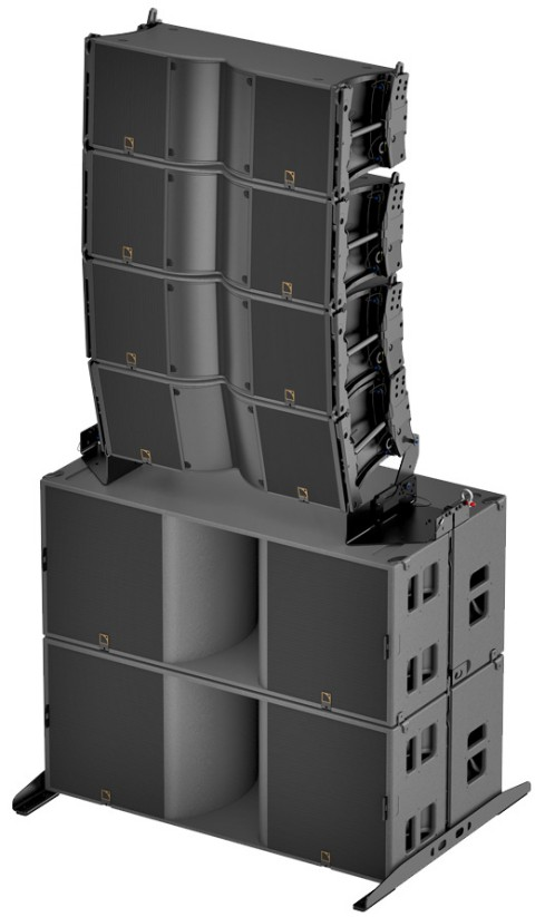 L Acoustics K3 stacked KS28 4xK32xKS28K3 TILT RT
