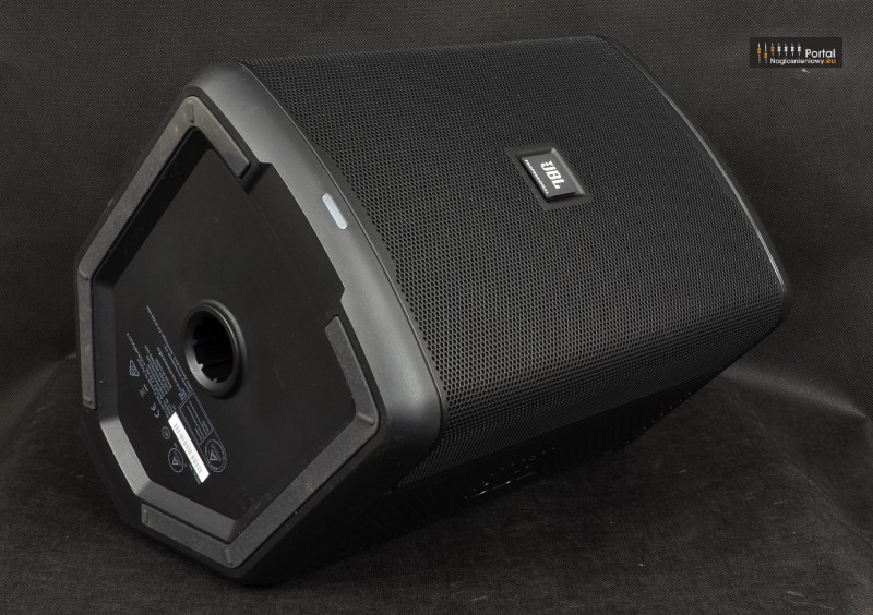 JBL EON ONE Compact review monitor front angle 800px