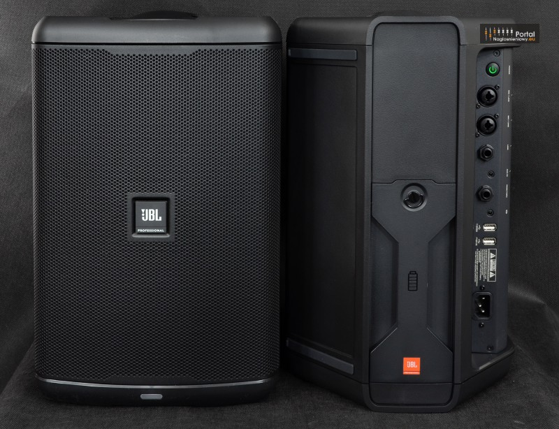 JBL EON ONE Compact review two front reartwo 800px