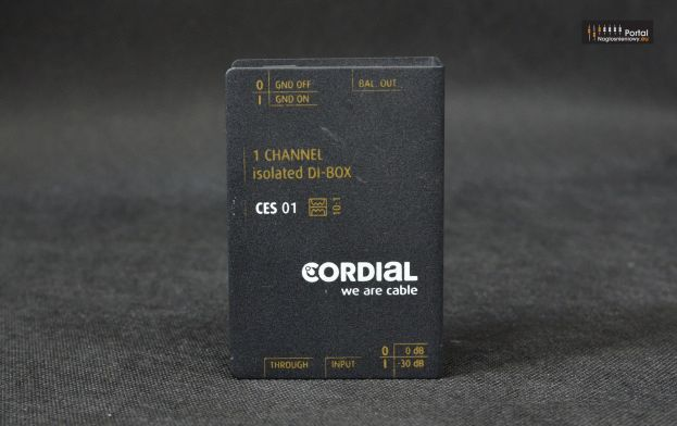 Cordial CES 01 – pasywny DI-BOX