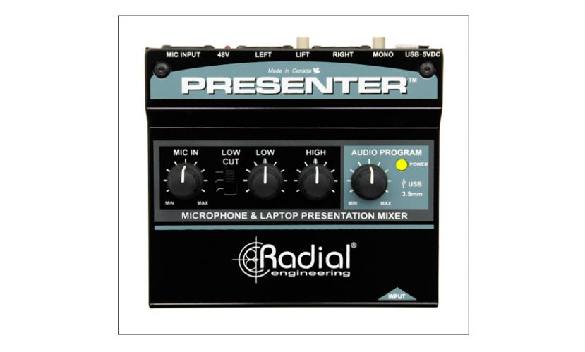 Radial Engineering Presenter - Kompaktowy mikser do prezentacji